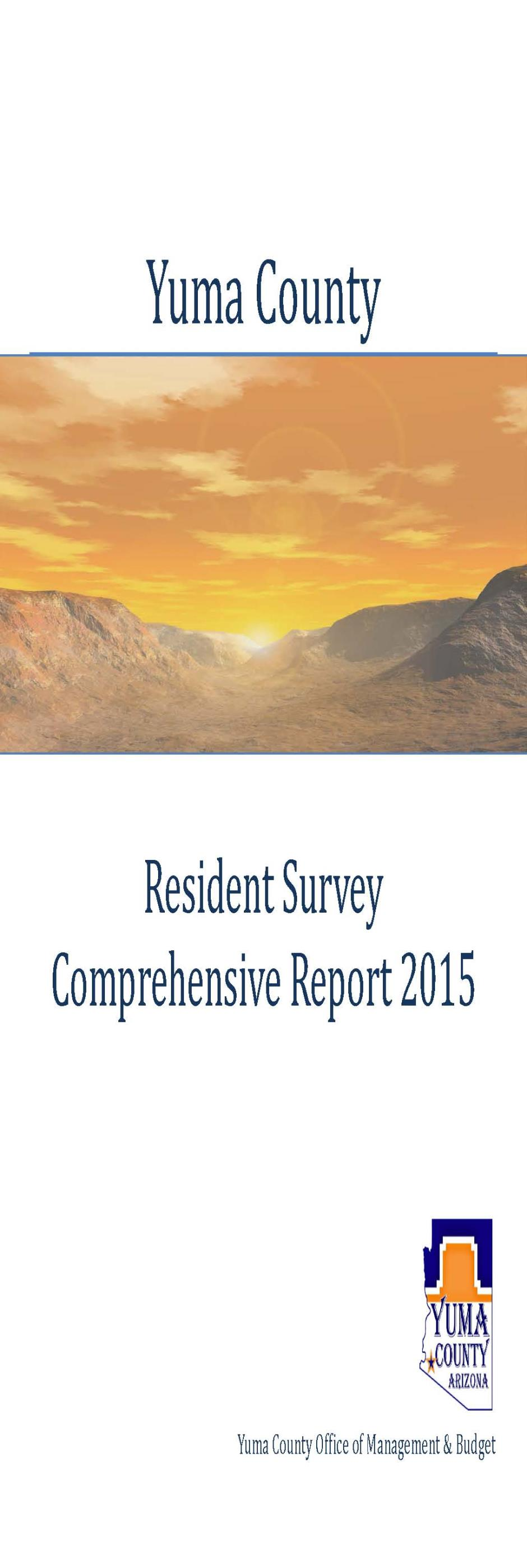 2015 Resident Survey Results2