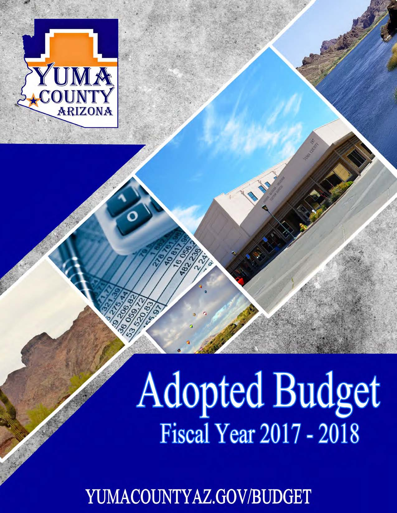 Adopted Budget (front cover)