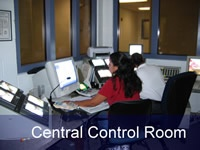 Detention Central Control Room