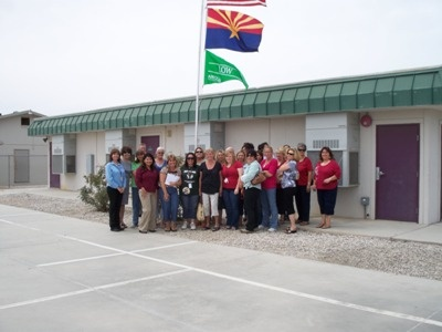 Desert View Academy Flag Launch