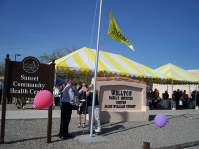 Wellton Flag Launch