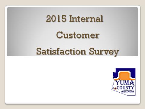 Customer satisfaction surveys | yuma county.