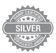 HAWP Silver Certified logo